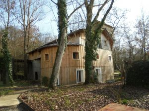 Former Cement factory, reconverted in a modern habitation of 250m².