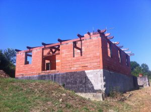 Country house under construction + ruine(1850) on 5080m² of land