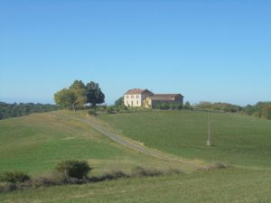 Large Gascon Farm house on 4Ha of prairie and wood