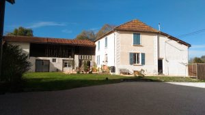 Country house with outbuildings and gite on 2.8 Ha of land.