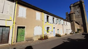 Under Contract Village house(1790) to modernise.