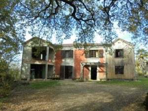 Property on 15Ha at 5 minutes from Mirande